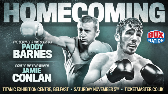 Jamie Conlan and Paddy Barnes