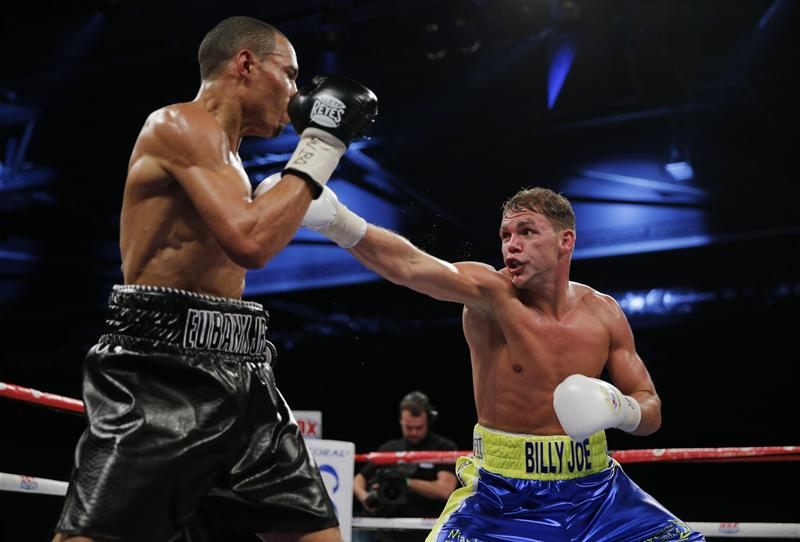 Billy Joe Saunders v Chris Eubank Jr