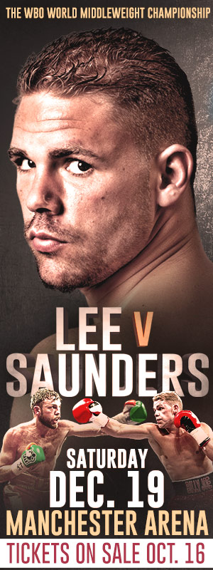 Billy Joe Saunders December 19