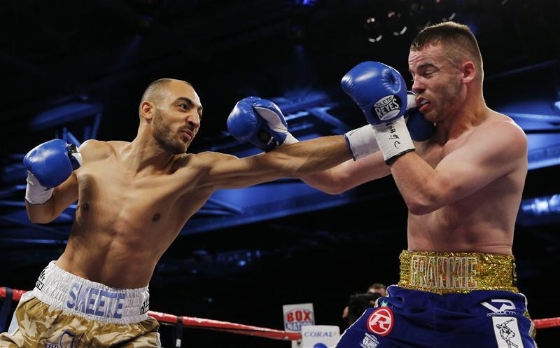 Bradley Skeete against Frankie Gavin