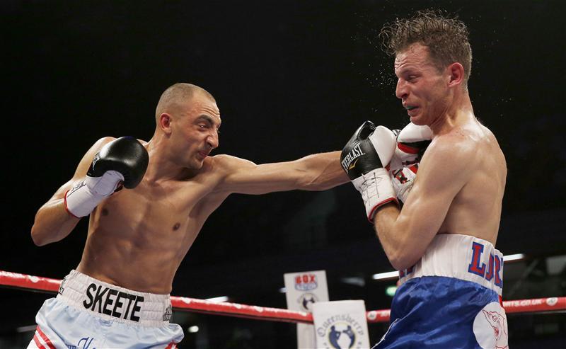 Bradley Skeete fighting Giuseppe Loriga