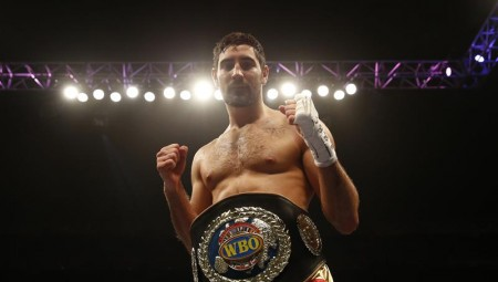 Frank Buglioni celebrating