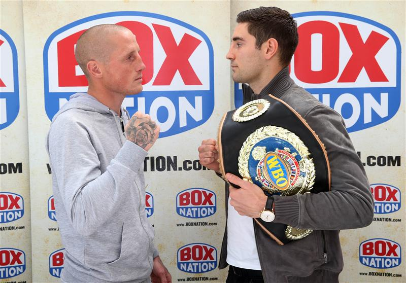 Frank Buglioni v Lee Markham face-off