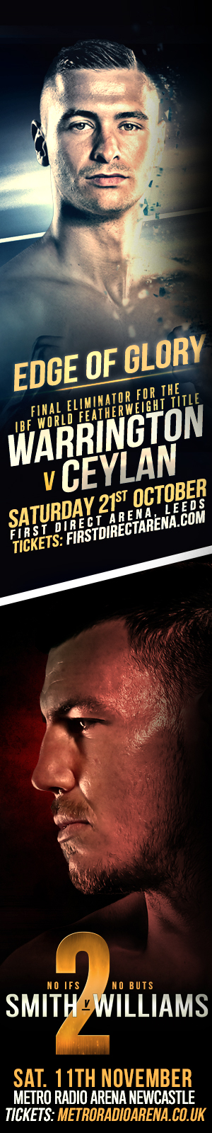 Frank Warren Boxing Events