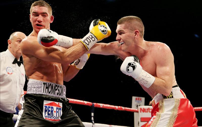 Liam Smith against Mark Thompson