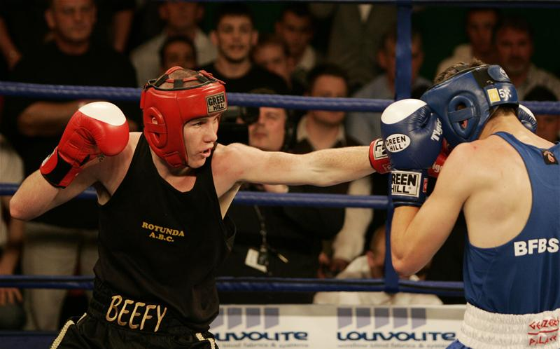 Liam Smith in action against Steve Turner