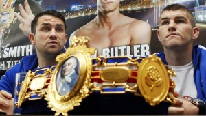 Liam Smith with belt