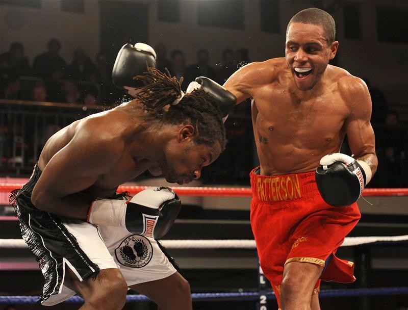 Ahmet Patterson boxing
