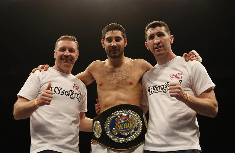 Frank Buglioni and team