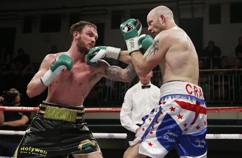 Miles Shinkwin fighting