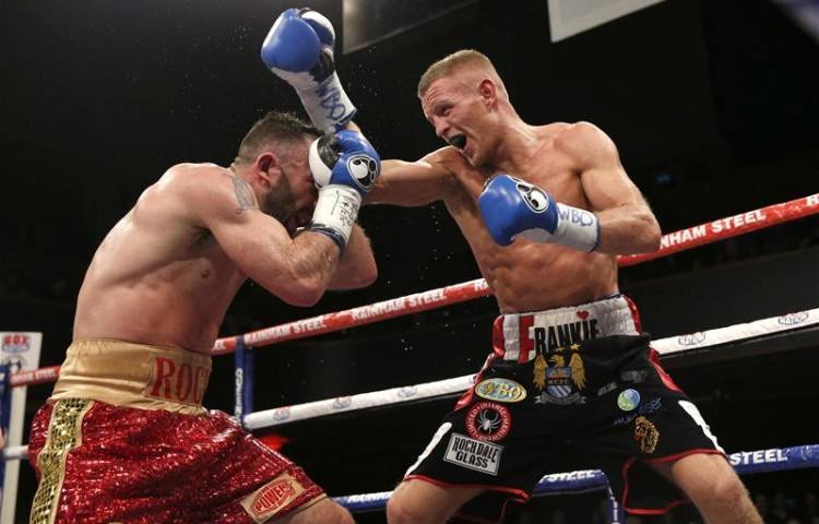 Terry Flanagan in action