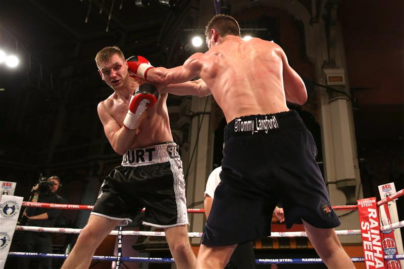 Tommy Langford fighting