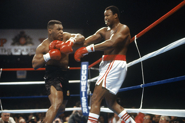 Mike Tyson - Larry Holmes