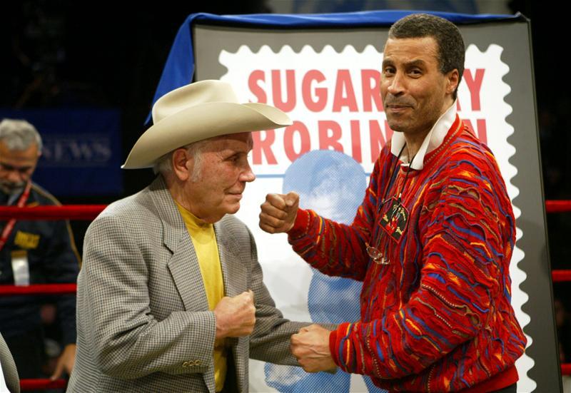 La Motta and Sugar Ray