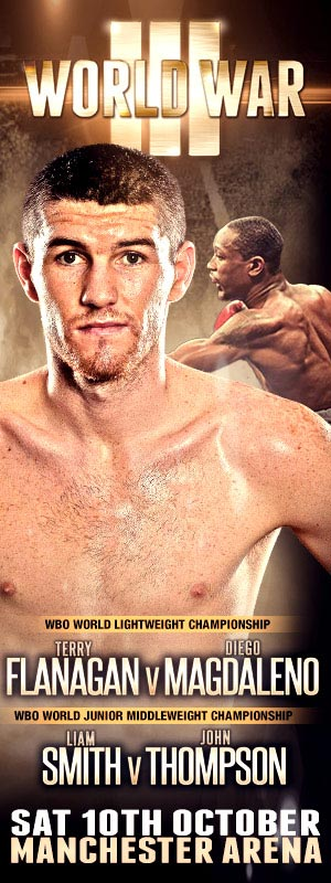 Liam Smith v John Thompson - October 10