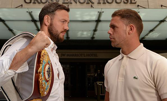Andy Lee V Billy Joe Saunders