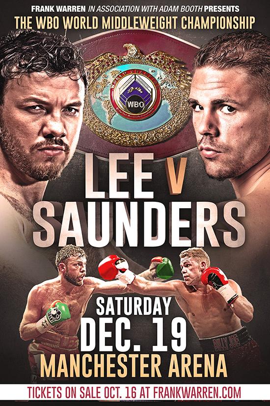 Lee V Saunders Poster