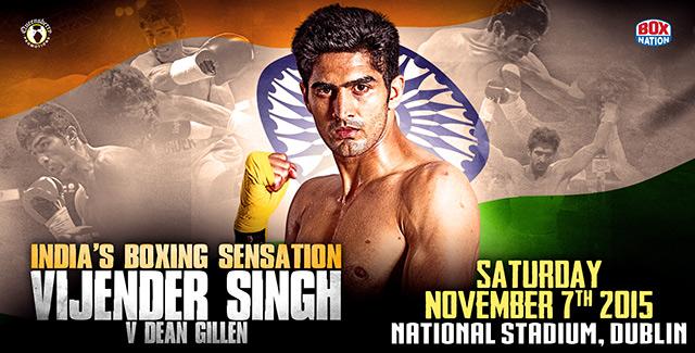Vijender Singh v Dean Gillen
