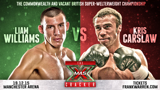 Liam Williams v Kris Carslaw