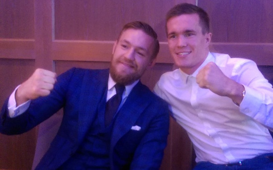 Conor McGregor and Jamie Kavanagh