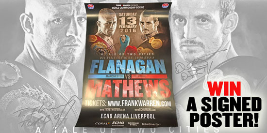 Flanagan v Mathews Poster