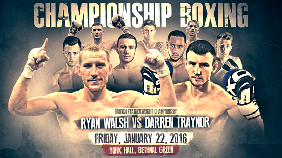 York Hall Boxing January 22