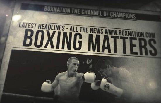 Boxing Matters