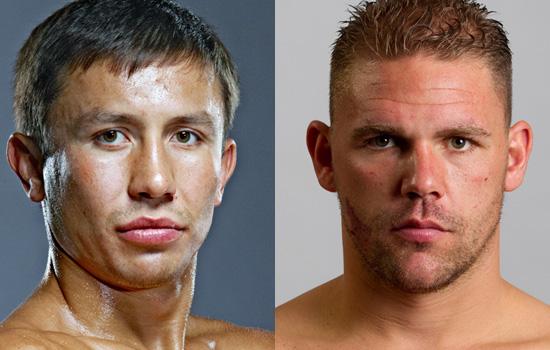 Golovkin vs Saunders