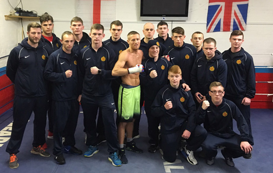Terry Flanagan Army Support