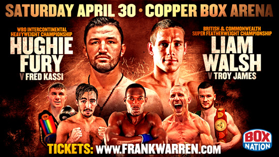 Hughe Fury April 30