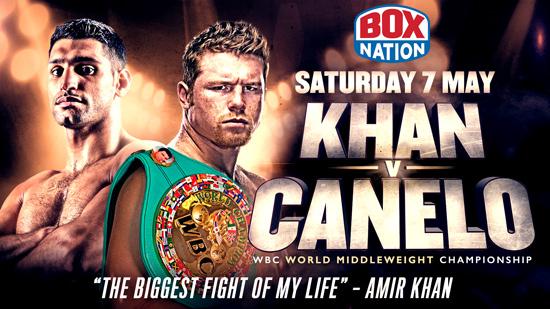 Khan v Canelo