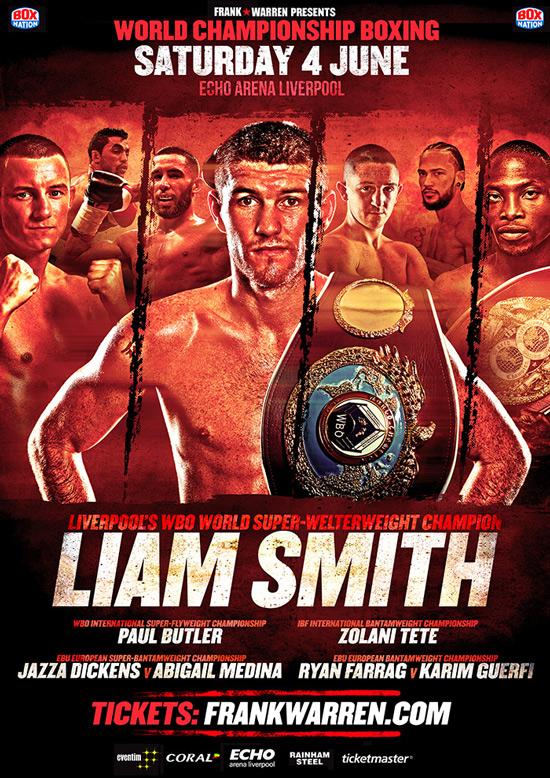 Liam Smith June 4 2016