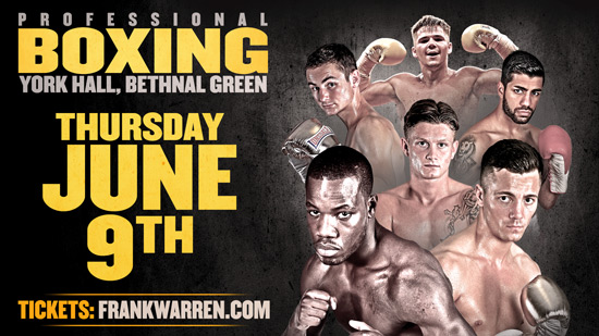 Darryll Williams June 9