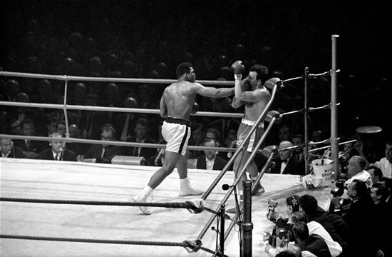 Ali Punches London