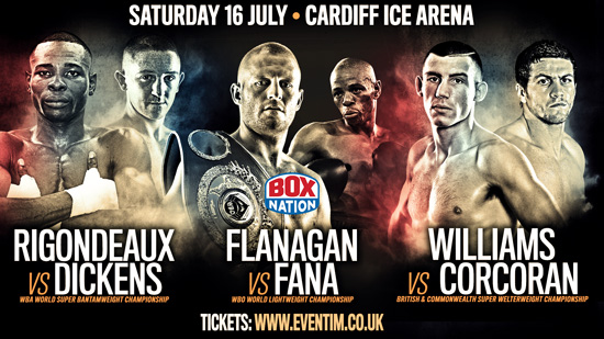 Cardiff Ice Arena Boxing