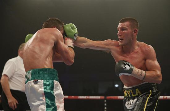 Liam Williams v Gary Corcoran