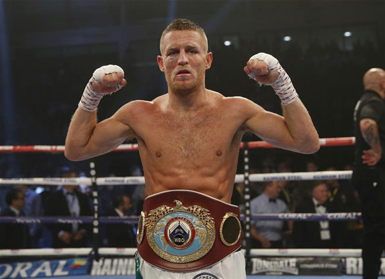 Terry Flanagan Wins