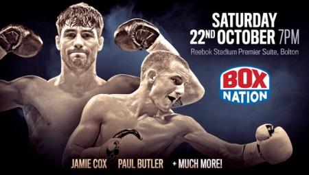 Jamie Cox & Paul Butler in Bolton