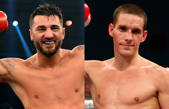 Nathan Cleverly & Liam Walsh