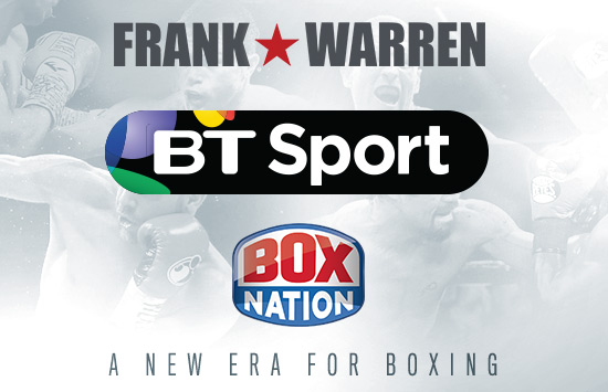 BT Sport, Frank Warren & BoxNation