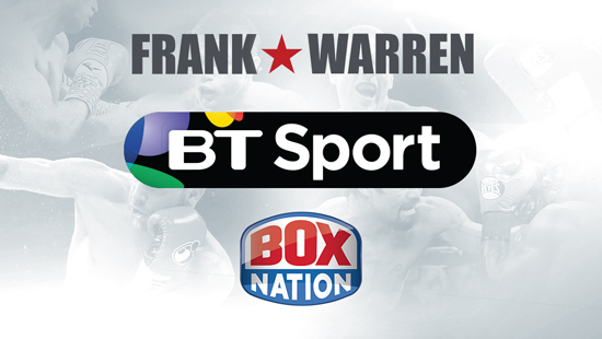 BT Sport sign deal with Frank Warren and BoxNation