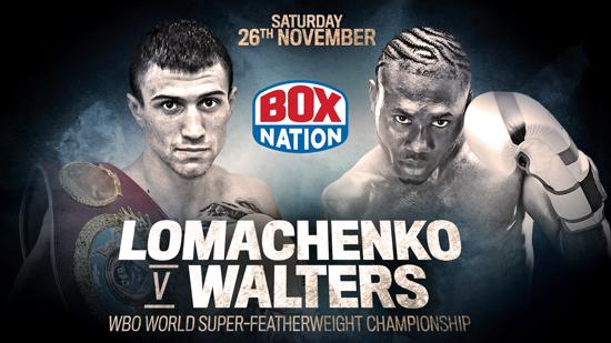 Lomachenko v Walters