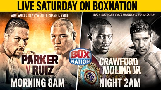 Parker v Ruiz | Crawford v Molina Jr