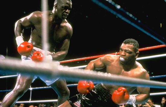 Douglas beats Tyson