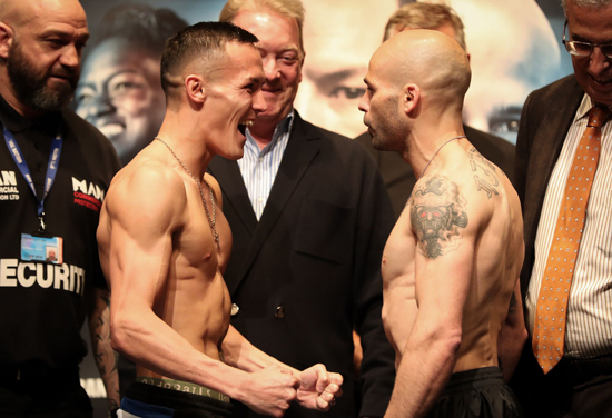 Warrington v Martinez