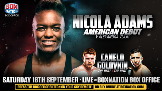 Nicola Adams American Debut