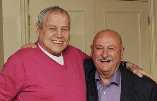 Old Pals' Act: Terry Downes and Alan Hubbard