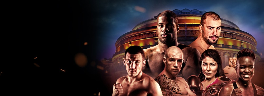 A Night Of World Championship Boxing At The Royal Albert Hall