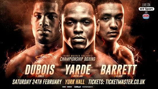 Yarde, Dubois and Barrett