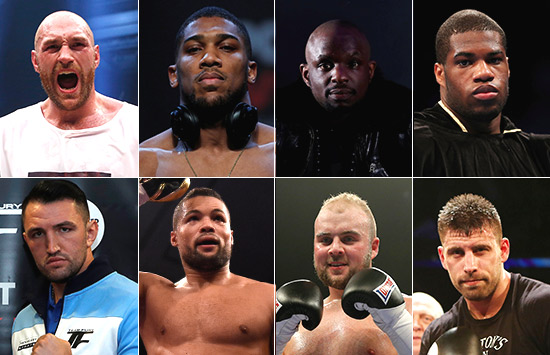 British Heavyweight Boxing